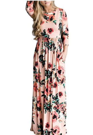 Screenshot_2020-01-22 HOOYON Women's Casual Floral Printed Long Maxi Dress with Pockets at Amazon Women's Clothing store